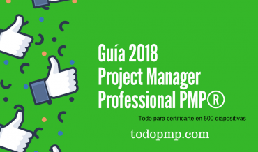 Guía 2018 Project Manager Professional PMP® PMBOK6
